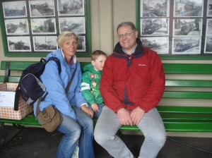 Fathers Day on the Watercress Line